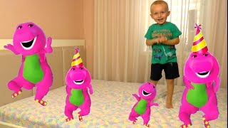 Five Little Babies Jumping On The Bed Educational Videos Good Song for kids
