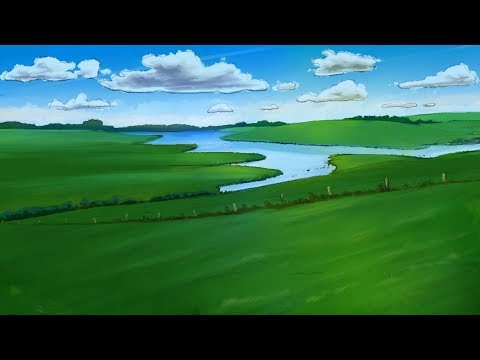 Speed Painting: 2D Animation Background