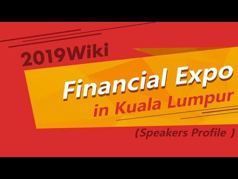 Malaysia News 丨 2019 Wiki Financial Expo In Kuala Lumpur - Speakers Profile
