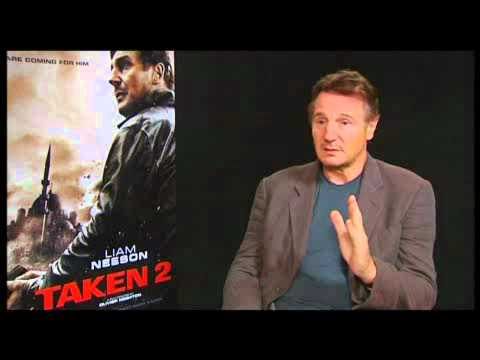 Taken 2 interview with Liam Neeson (FULL INSERT)