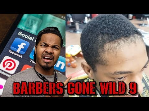 CRAZY BARBERS GONE WILD REACTION 9