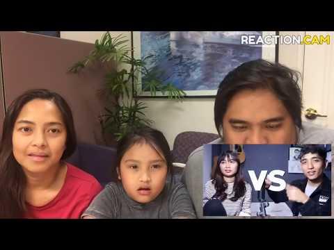 Family reacts to Siti Badriah  Lagi Syantik sang by Reza Darmawangsa VS Salma