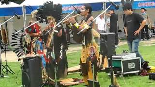 Native American music on the DIBF