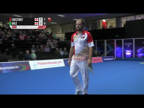 JUST 2018 World Indoor Bowls Championships: Session 11