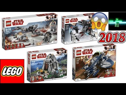 Official LEGO Star Wars 2018 Set Pictures Released! WOW! - YouTube