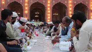 Ramadan iftar in Lahore