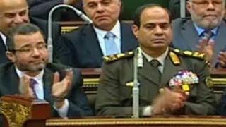 Mursi Konuşuyor Hain Sisi Alkışlıyor - السيسي يصفق لمرسي