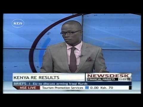 Kenya Re reports 6% of pre tax profit in the first half of the year
