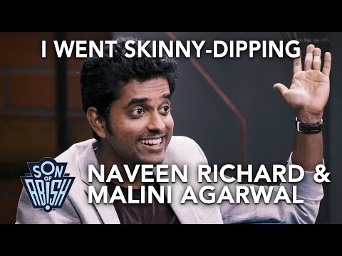 When Naveen Richard went Skinny Dipping | Son Of Abish