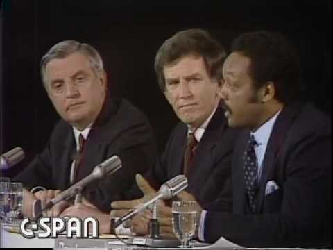 1984 Democratic Primary Candidates Debate 03/18/84