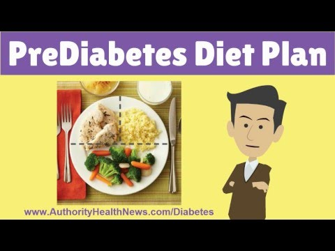EFFECTIVE Pre-Diabetes Diet Plan: See Best Foods & Meal Plans to REVERSE Pre-Diabetes