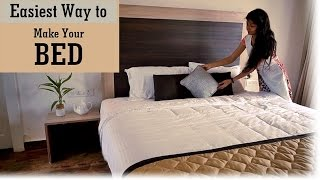 Indian Youtuber Home Decor - How to Make A Bed