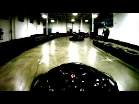 Grand Prix Karting indoor go kart track in Columbus, Ohio.  Final race.