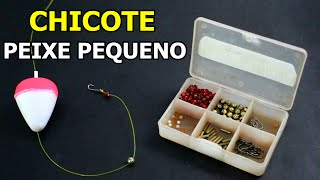 Chicote de Pesca para Peixes Pequenos (L...