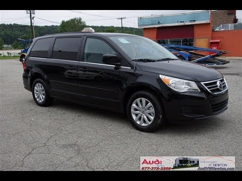 Jw Auto Sales >> 2012 VW Volkswagen Routan SE Black RSE NAV Rear System Entertainment Navigation CR146209 - YouTube