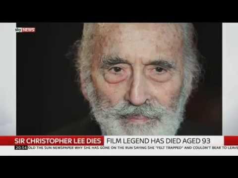 Christopher Lee: In Memoriam / Simon Oakes Interview 1