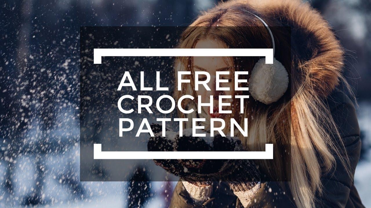 Free Crochet Snowman Scarf Pattern Youtube