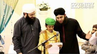 COVENTRY MAWLID JALOOS 2014: Hassan Zubair & Amaan Khan featuring Hafiz Ahmed Raza Qadri