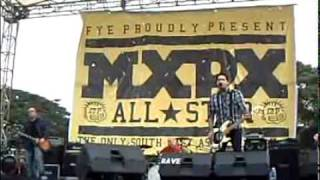 MxPx All Stars - Secret Weapon (Live in Bandung, Indonesia | 12 Desember 2009)