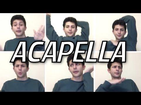 SINGING SONGS IN ACAPELLA