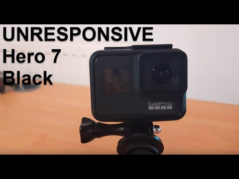 GoPro Hero 7 Black Unresponsive