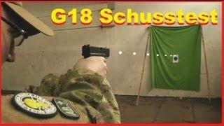 G18C - Airsoft Schusstest