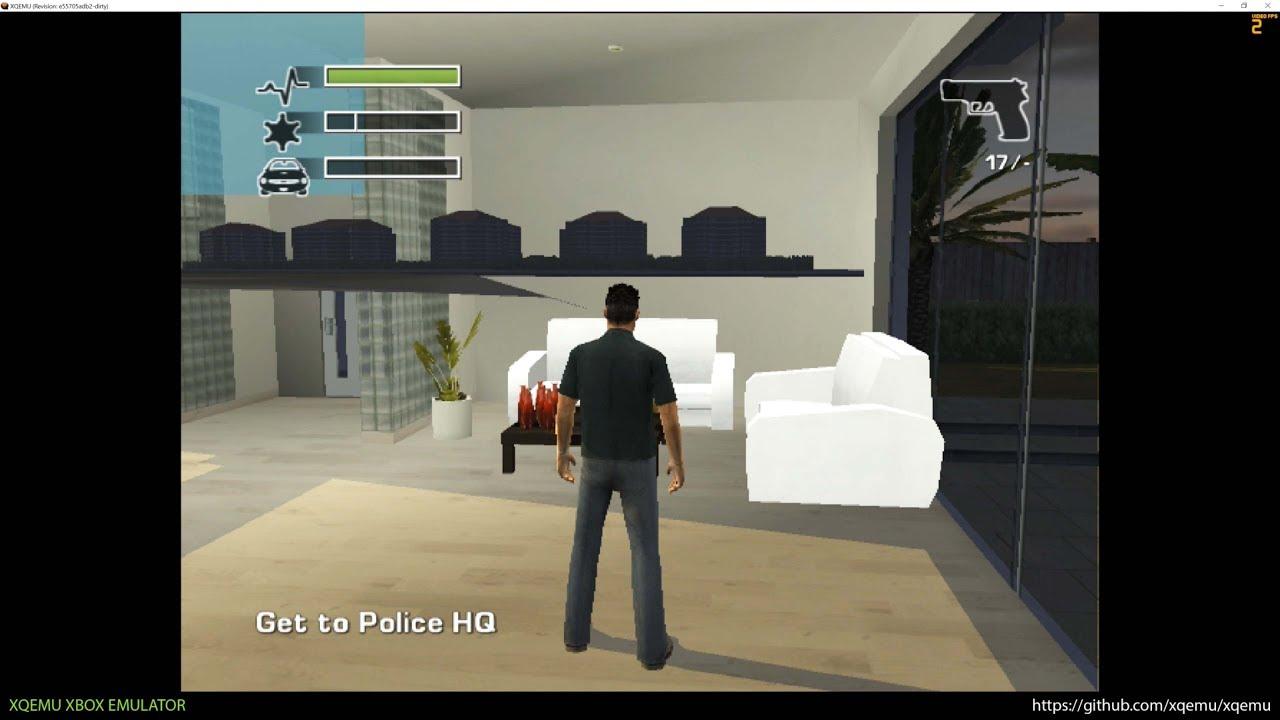 Xqemu Xbox Emulator Driv3r Ingame 2497e2d Wip Youtube