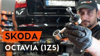 Τοποθέτησης Ράβδος ζεύξης πίσω αριστερά SKODA OCTAVIA Combi (1Z5): δωρεάν βίντεο