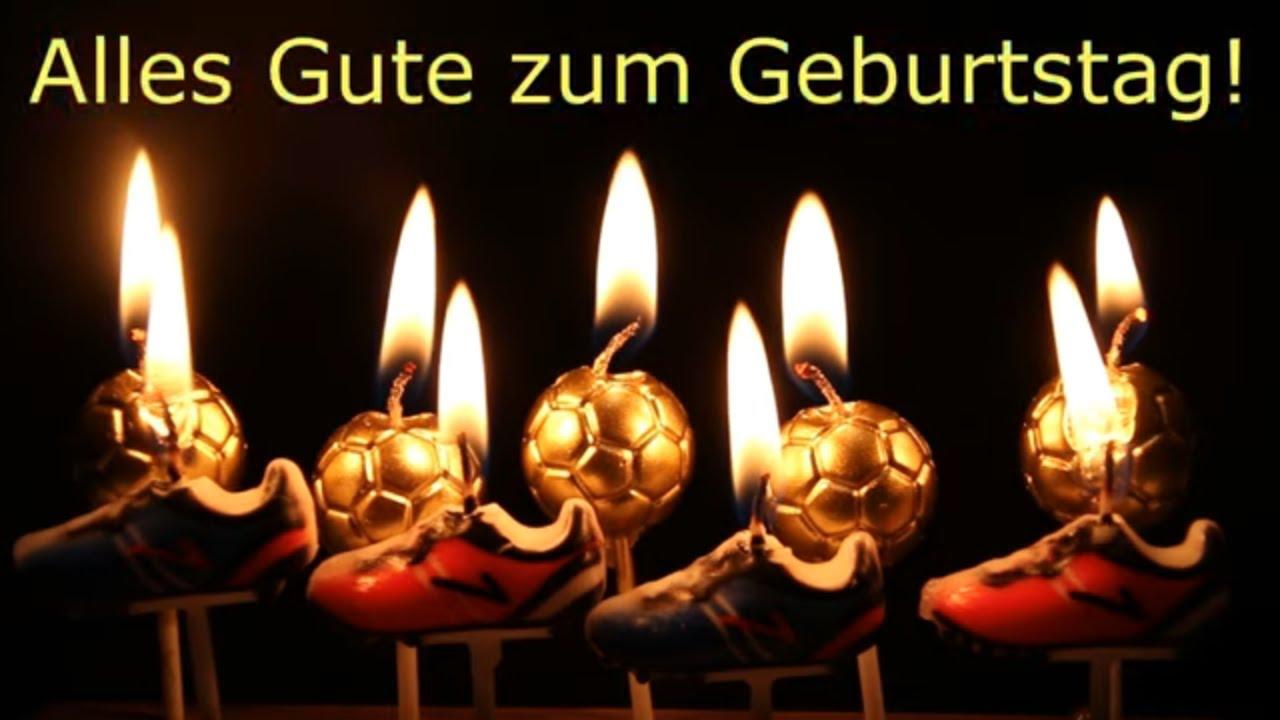 Geburtstagsvideo Fur Fussballer Alles Gute Zum Geburtstag Geburtstagslieder Von Thomas Koppe Youtube