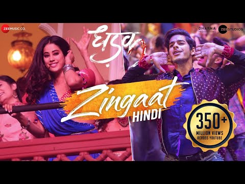 Mix - Zingaat Hindi | Dhadak | Ishaan & Janhvi | Ajay-Atul | Amitabh Bhattacharya