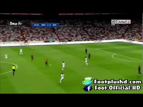 Real Madrid 2-1 Barcelona First Half 29/8/2012