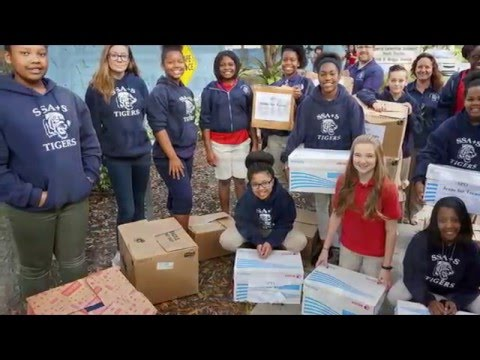 sarasota-police:-teens-for-jeans-donations-from-sarasota-school-of-arts-&-sciences