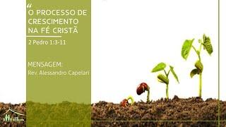 Culto Vespertino - 10/01/2021 - O Conhecimento que gera Paz - Rev. Raphael Delfino