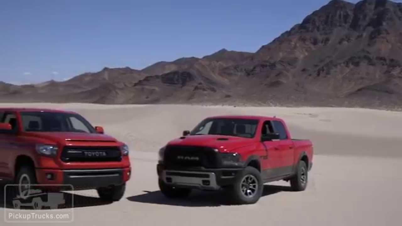 4x4 Challenge Ram Rebel Vs Toyota Tundra Trd Pro Youtube