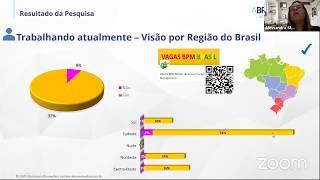 BPM Webinar: Pesquisa salarial dos profissionais de processos BPM do Brasil