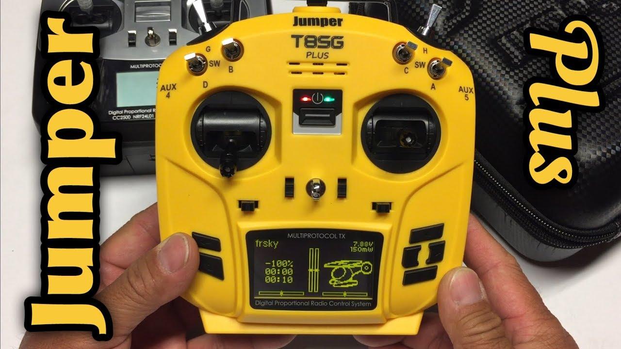 jumper t8sg v2 plus  Jumper T8SG V2.0 Plus Hall Sensor Gimbal Multi-protocol Transmitter ...