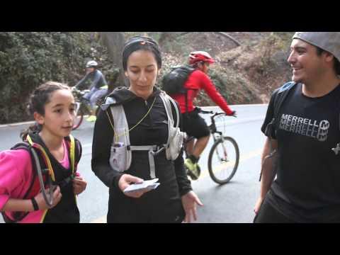 Deportes gratuitos Cerro San Cristobal, Santiago. Chile