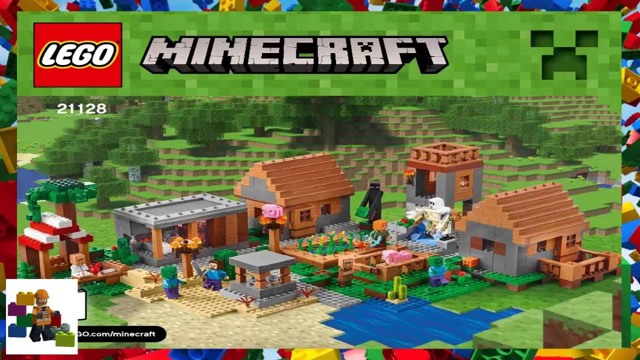 Lego Instructions Minecraft 21128 The Village Book 1 Youtube
