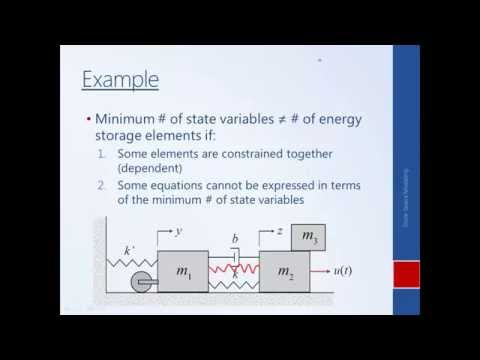 System Dynamics and Control: Module 27b - Choosing State Variables