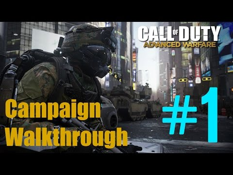 COD Advanced Warfare |PS4| singleplayer walkthrough - part 1 - Seoul Induction