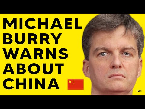 The Big Short Michael Burry Warns China's Evergrande Debt Crisis Potential Meltdown!