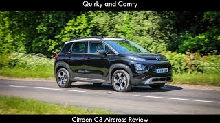Quirky and Comfy: Citroen C3 Aircross Review