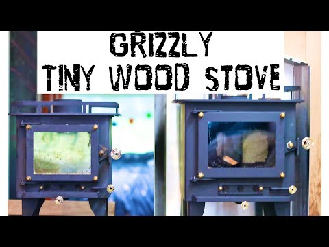The GRIZZLY TINY WOOD STOVE VS The CUB- BEST VALUE CUBIC MINI TINY WOOD STOVE