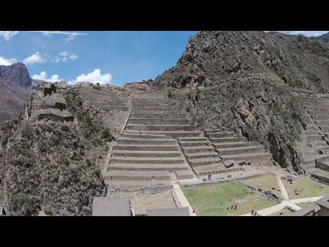 Flying Over Ancient Sites In Peru and...