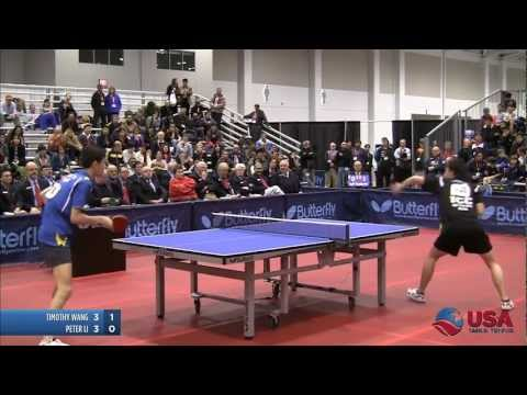 Men's Singles SF: Timothy Wang vs. Peter Li - 2011 US Table Tennis Championships