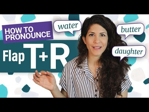 American Accent🇺🇸: Master the FLAP T and R transition [water, daughter, better, computer]