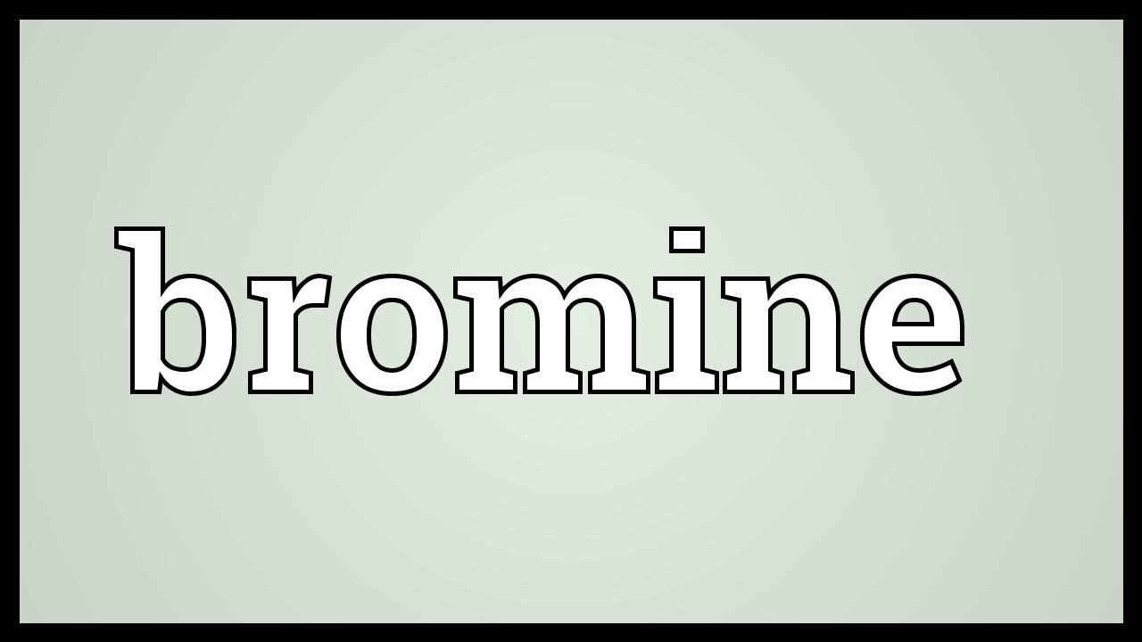 Bromine meaning youtube bromine meaning gamestrikefo Gallery