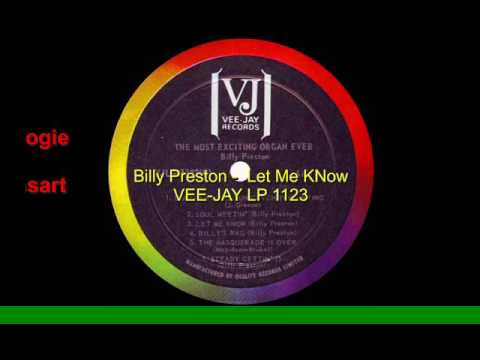 Billy Preston -  Let Me Know