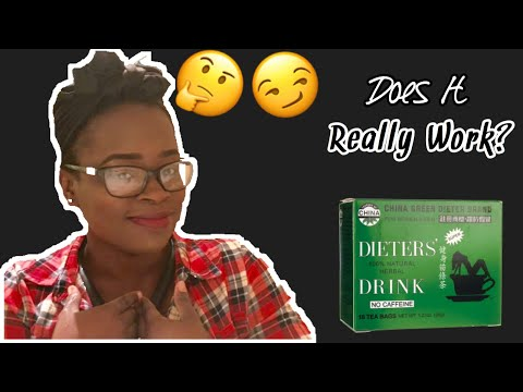 Dieters China Green Tea Review│ The Best Detox / Dieter's Dr