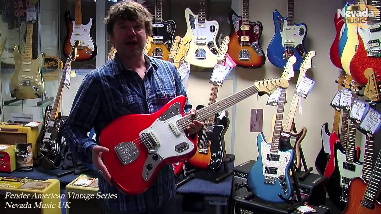 Fender American Vintage \'65 Jaguar Candy Apple Red - Damon | PMTVUK ...